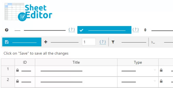 WP Sheet Editor Editable Frontend Tables Nulled v.2.2.13