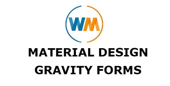 WPMonks Material Design For Gravity Forms
