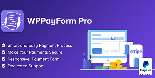 WPPayForm Pro WordPress Payments Made Simple Nulled v.2.1.0