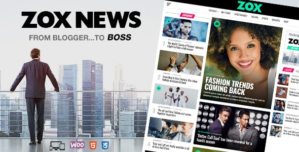 Zox News Nulled v.3.10