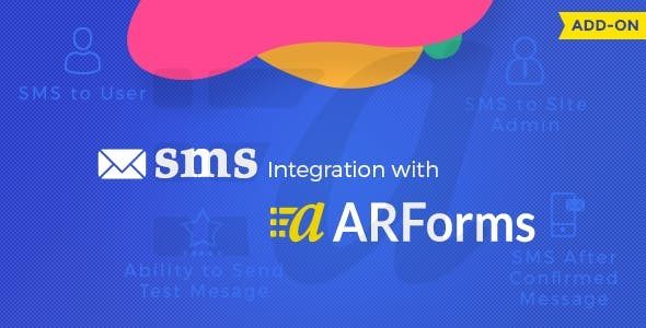 ARForms SMS Add-on Nulled v.1.6