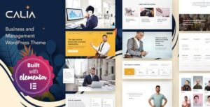 Calia Business and Management WordPress Theme Nulled v.1.2.19