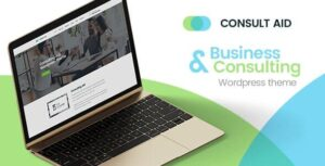 Consult Aid : Business Consulting And Finance WordPress Theme Nulled v.1.0.4
