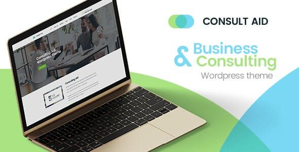Consult Aid Business Consulting And Finance WordPress Theme
