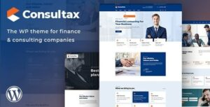 Consultax Financial & Consulting WordPress Theme Nulled v.1.0.8