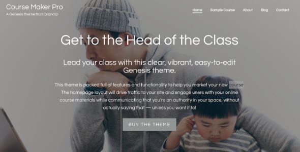 Course Maker Pro Theme Package
