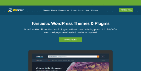 CSSIgniter Themes Andros Nulled v.1.5.1