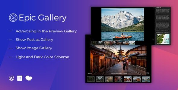 Epic Zoom Gallery WordPress Plugin & Add Ons for Elementor & WPBakery Page Builder