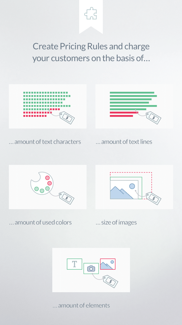 Fancy Product Designer Pricing Add On