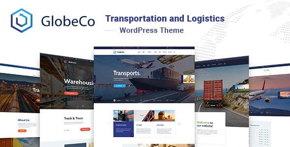 GlobeCo Transportation & Logistics WordPress Theme