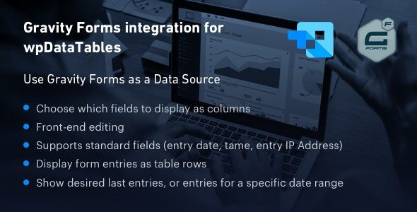 Gravity Forms integration for wpDataTables
