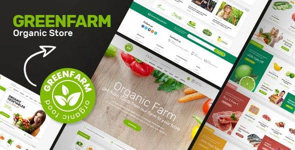 Greenfarm Organic Theme for WooCommerce WordPress