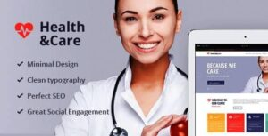 Health & Care Life Coach & Medical Doctor WordPress Theme Nulled v.1.8.2