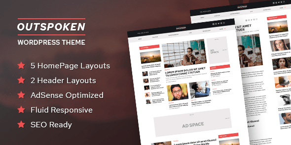 MyThemeShop Outspoken WordPress Theme