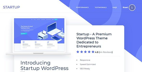 MyThemeShop Startup WordPress Theme