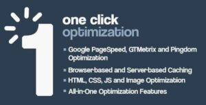 One Click WordPress Speed & Performance Optimization Nulled v.2.0.3