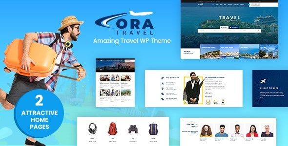 Ora Tour, Travel Booking Theme