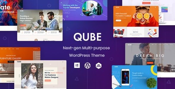 Qube Responsive Multi Purpose Theme