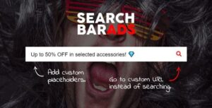 Search Bar Ads WooCommerce Plugin Nulled v.1.0