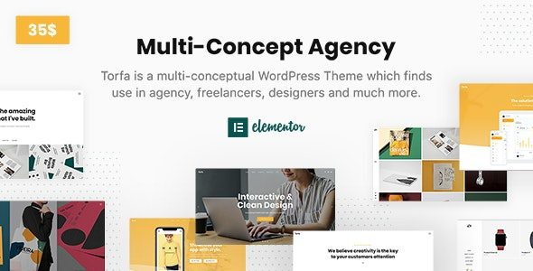 Torfa — Multi Concept Agency Theme