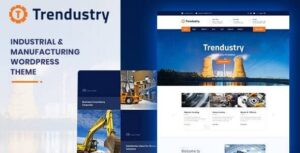 Trendustry Industrial & Manufacturing WordPress Theme Nulled v.1.0.4