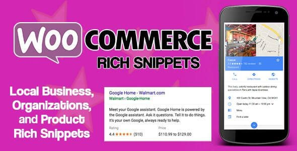 WooCommerce Rich Snippets Local SEO & Business SEO Plugin