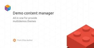 WordPress Demo Content Manager Nulled v.2.0.5