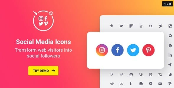 Social Icons Nulled v.1.7.0
