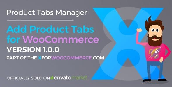 Add Tabs for WooCommerce