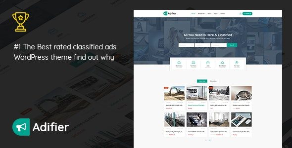 v3.8.7 Adifier – Classified Ads WordPress Theme Nulled