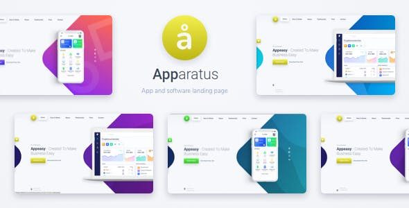 Apparatus v4.1.0 A Multi-Purpose One-Page Portfolio and App Landing Theme Nulled