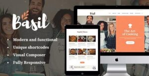 Basil v1.3.1 Nulled – Cooking Classes and Workshops WordPress Theme
