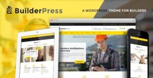 v.1.2.4 BuilderPress – Construction and Architecture WordPress Theme Nulled