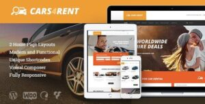 v1.2.3 – Cars4Rent Car Rental & Taxi Service WordPress Theme Nulled