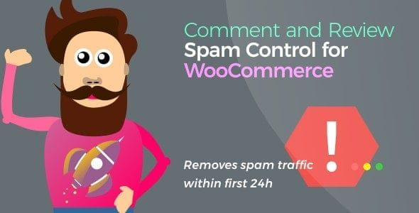 v.1.3.1 Comment and Review Spam Control for WooCommerce Nulled