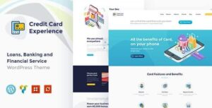 v1.2.6 Credit Card Experience Credit Card Company and Online Banking WordPress Theme Nulled