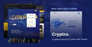 v.1.4.0 – Cryptro – Cryptocurrency, Blockchain , Bitcoin & Financial Technology WP Theme Download