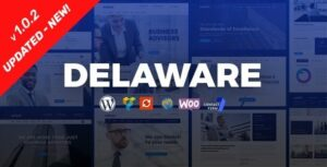 v.1.1.2 Delaware – Consulting and Finance WordPress Theme Nulled