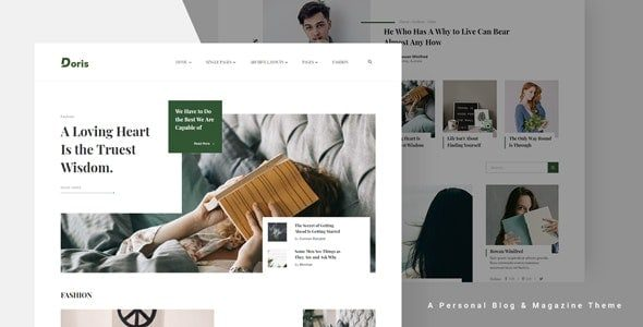 Doris – Creative WordPress Blog and Magazine Theme
