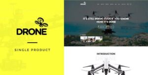 v.1.26 Drone – Single Product WordPress Theme Nulled