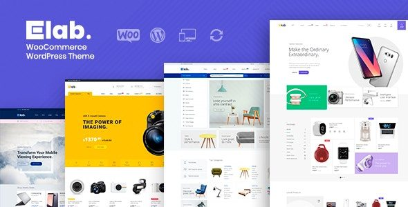 eLab Multi Vendor Marketplace WordPress Theme