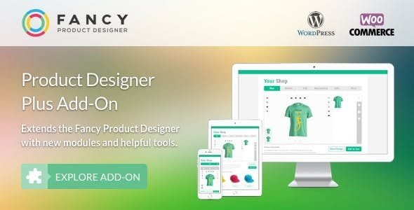 Fancy Product Designer Plus Add-On