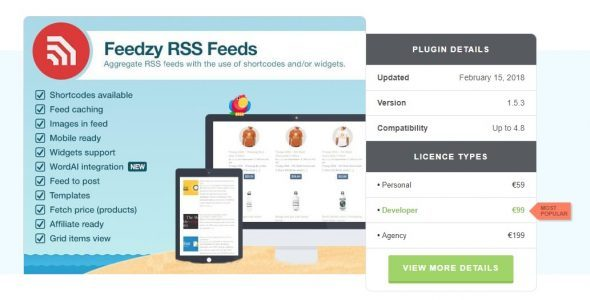 Feedzy RSS Feeds Premium