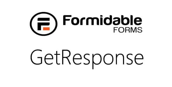 Formidable GetResponse Nulled v.1.05