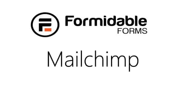v.2.05 Formidable Forms – MailChimp Add-On Nulled