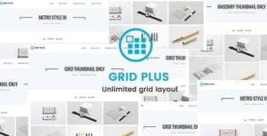 Grid Plus Unlimited Grid Layout v3.2 Nulled