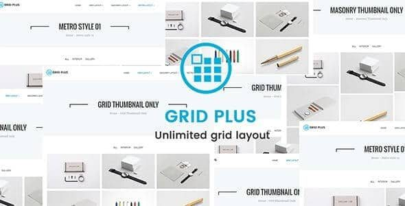 Grid Plus Unlimited Grid Layout