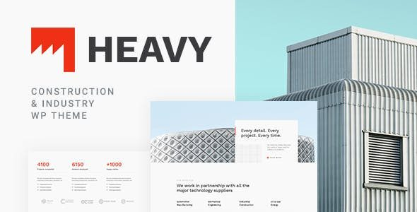 v.1.0.2 Heavy Industrial WordPress Theme Nulled