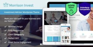 Investments, Business & Financial Advisor WordPress ThemeInvestments, Business & Financial Advisor WordPress Theme