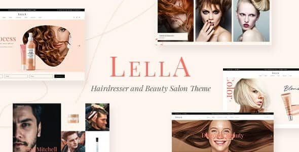 Lella Hairdresser and Beauty Salon Theme